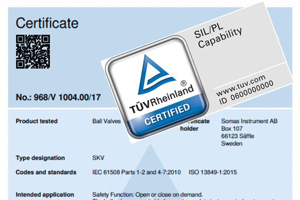 Certifierade för SIL